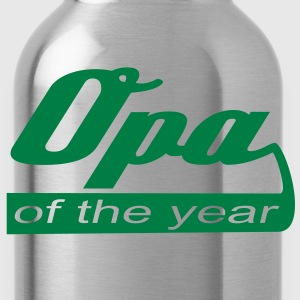 Opa of the year T-Shirt YG - Trinkflasche