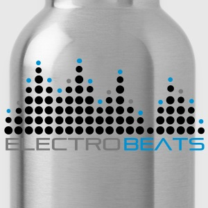 electro_beat_001 T-Shirts - Water Bottle