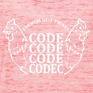 French software code code code codec - Débardeur Femme marque Bella