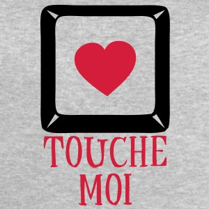 touche_moi_coeur1 Tee shirts - Sweat-shirt Homme Stanley & Stella