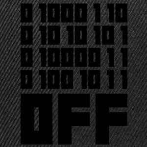 Fuck OFF - Binary Code T-shirts - Snapbackkeps