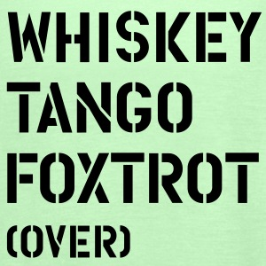 WTF - Whiskey Tango Foxtrot (over) T-shirts - Vrouwen tank top van Bella