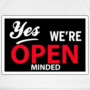 yes we are open minded T-shirts - Basebollkeps