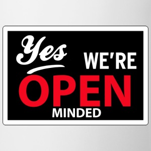 yes we are open minded T-shirts - Mugg