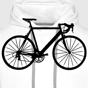bike bicycle sport Tee shirts - Sweat-shirt à capuche Premium pour hommes