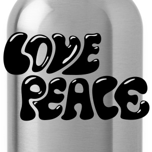 Love Peace T-shirts - Vattenflaska