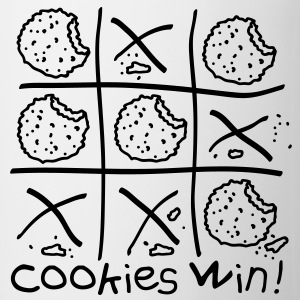 Cookies win! T-shirts - Kop/krus