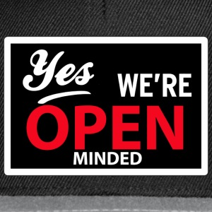 yes we are open minded T-shirts - Snapbackkeps