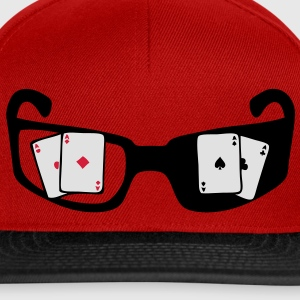 lunette carre as poker Tee shirts - Casquette snapback