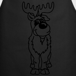 Very nice reindeer T-Shirts - Cooking Apron