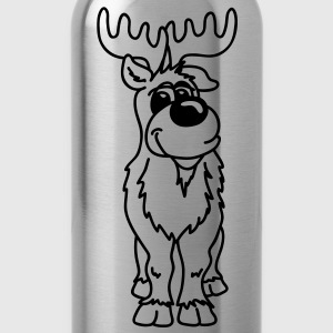 Very nice reindeer T-Shirts - Water Bottle