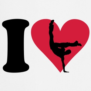 I love Breakdance T-shirt - Grembiule da cucina