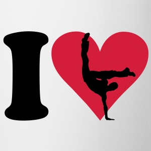 I love Breakdance Tee shirts - Tasse