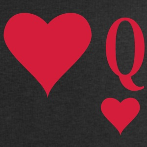 Heart Queen | queen of hearts | Q T-Shirts - Men's Sweatshirt by Stanley & Stella