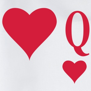 Heart Queen | queen of hearts | Q T-Shirts - Gymtas