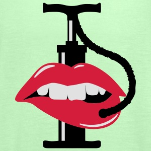 pump up lips | Lippen aufspritzen T-Shirts - Frauen Tank Top von Bella