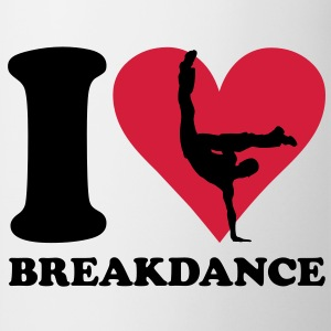 I love Breakdance T-shirts - Mok