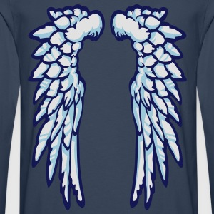 Heaven Wings - Men's Premium Longsleeve Shirt