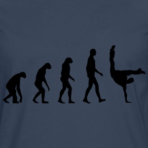 Evolution Breakdance T-skjorter - Premium langermet T-skjorte for menn