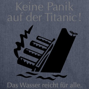 Titanic - Schultertasche aus Recycling-Material