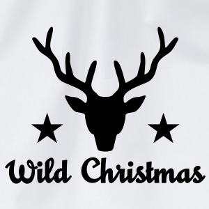 Wild Christmas T-Shirts - Drawstring Bag
