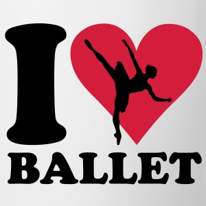I love balett T-shirt - Tazza