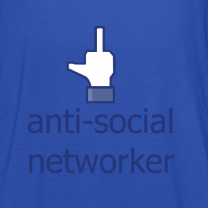 anti social networker - Women's Tank Top by Bella