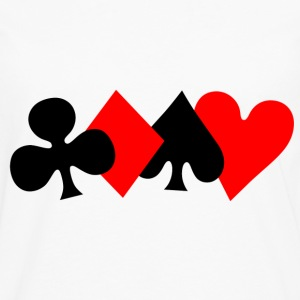 Poker Design T-Shirts - Men's Premium Longsleeve Shirt