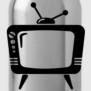 TV - Your Text - telly T-Shirts - Water Bottle