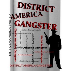 district america gangster Magliette - Borraccia