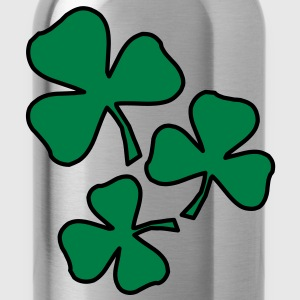 2 colors - Kleeblatt Irland Sankt Patricks Day Shamrock Ireland Saint T-shirts - Drinkfles