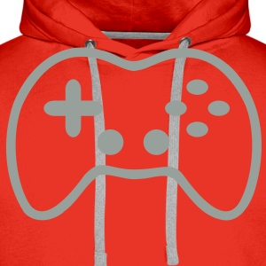 Game Controller T-Shirts - Men's Premium Hoodie