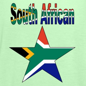 South African Star Men's T-Shirt - Women's Tank Top by Bella