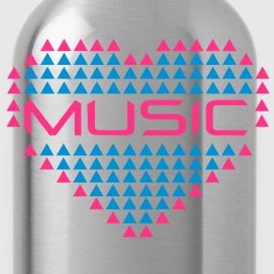 love_music_001 T-Shirts - Water Bottle