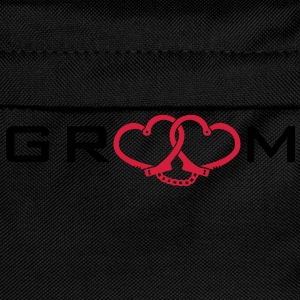 groom handcuff T-Shirts - Kinder Rucksack