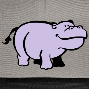 Hippopotame Tee shirts - Casquette snapback