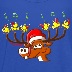 Birds' and Deer's Christmas Concert T-Shirts - Women's Tank Top by Bella