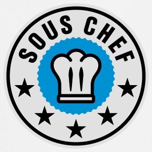 Sous Chef | Küchenchef | Chef Cook T-Shirts - Keukenschort