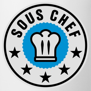 Sous Chef | Küchenchef | Chef Cook T-Shirts - Taza