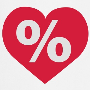 Love Rabatt Herz | Love Discount Heart T-Shirts - Forklæde