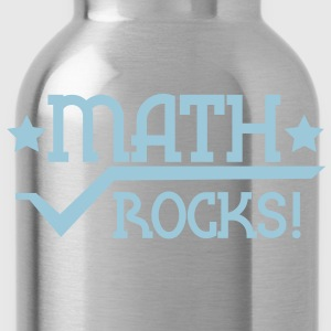 Rouge Maths rocks Tee shirts - Gourde