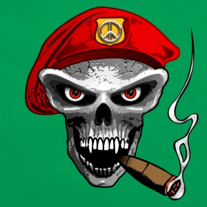 peace army skull Tee shirts - Sac Retro
