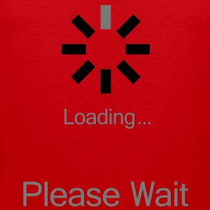 loading_please_wait Koszulki - Tank top męski Premium