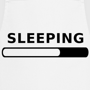 Sleeping in Progress T-Shirts - Cooking Apron