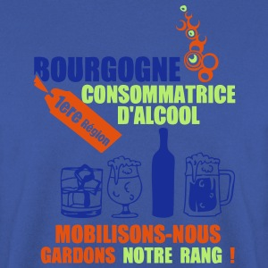 bourgogne 1ere region alcool2 Tee shirts - Sweat-shirt Homme