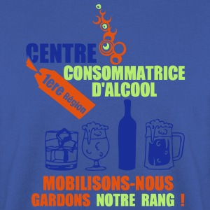 centre 1ere region alcool2 Tee shirts - Sweat-shirt Homme