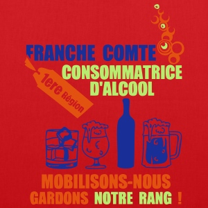 franche comte 1ere region alcool2 Tee shirts - Tote Bag