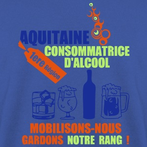aquitaine 1ere region alcool2 Tee shirts - Sweat-shirt Homme