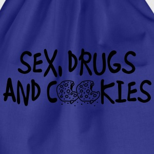 sex_drugs_and_cookies T-shirt - Sacca sportiva