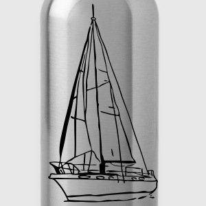 sailboat2 T-Shirts - Trinkflasche
